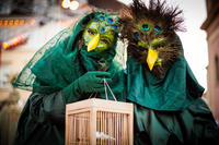 The bird catchers, Ludwigsburg, Germany.